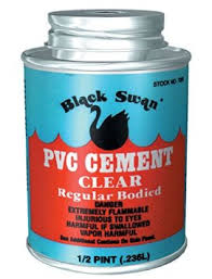 118ml Black Swan uPVC Cement