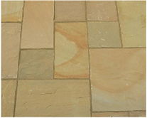 Sandstone (Calibrated 22mm) - Lalipur Yellow - Patio Pack
