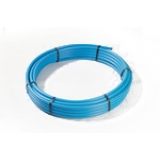 20mm MDPE Pipe Coil 50m - Blue