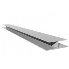 Hollow Soffit H Section (5m) - White