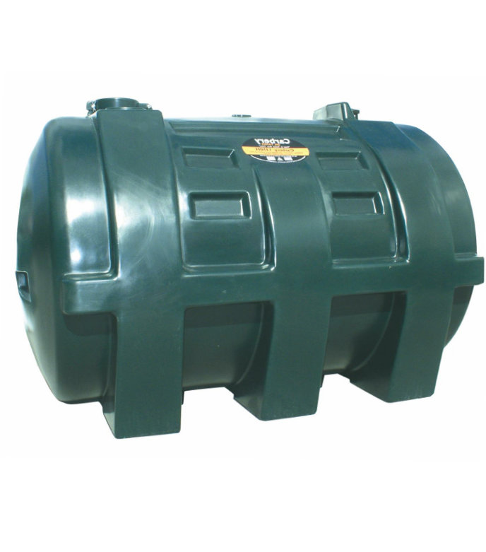 Carbery 1350L Horizontal Single Skin Oil Tank