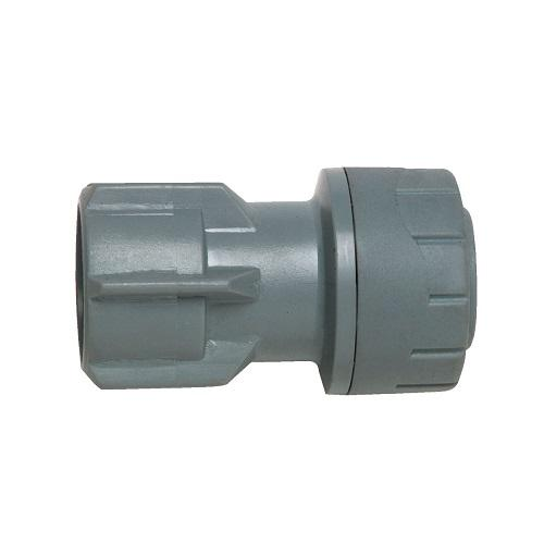 "Polyplumb 15mm x 3/4"" Hand Tighten Tap Connector"