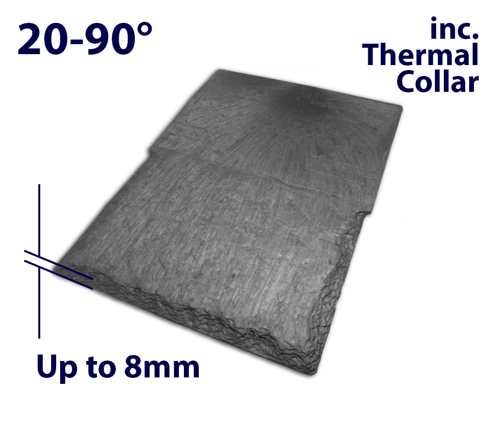 Velux EDN CK06 550 x 1180mm Recessed - Single slate flashing (inc. Insulation Collar)