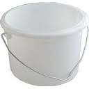 2L Round Paint Kettle - White