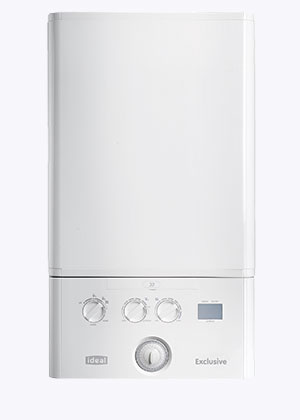 Ideal Exclusive 30 Combi Boiler & Clock - 30kW (5 Year Warranty)