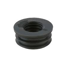 Rubber Push Fit 63mm to 40mm Boss adaptors - Black