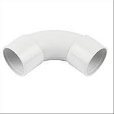 50mm Solvent Weld Waste 90' Swept Bend - White