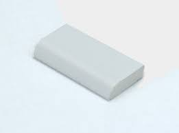 28mm uPVC Edge Fillet - White