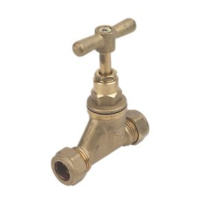 25mm Brass Poly Standard Stop Cock