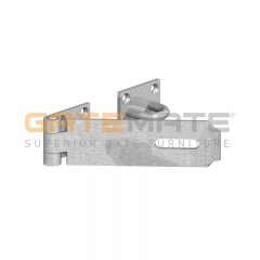 "GateMate 150mm (6"") Safety Pattern Hasp & Staple - BZP"