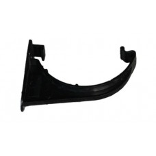 112mm Half Round Fascia Bracket - Black