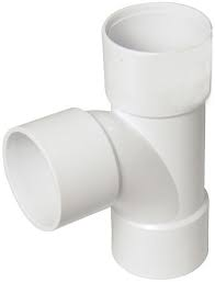 32mm Solvent Weld Waste Swept Tee - White