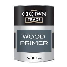 Crown Trade - Wood Primer- 1l - White