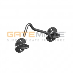 "GateMate 150mm (6"") Wire Pattern Cabin Hook - Black"