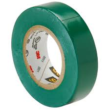 PVC Insulating Tape: Green