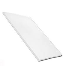 9mm Plain Multipurpose Soffit White 200mm (5m)