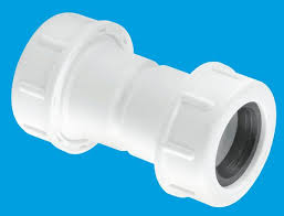 McAlpine R1M 19/23 Universal Straight Overflow Connector