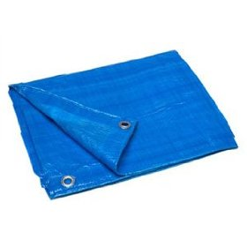 TimcoShield LD 4m x 5m All-Purpose Tarpaulin (80gsm) - Blue