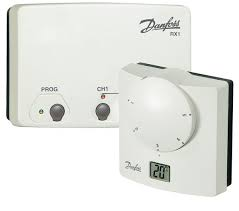 Danfoss RETB (RF) + RX1  Room Thermostat Pack