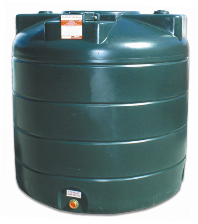 Carbery 1350L Vertical Single Skin Oil Tank