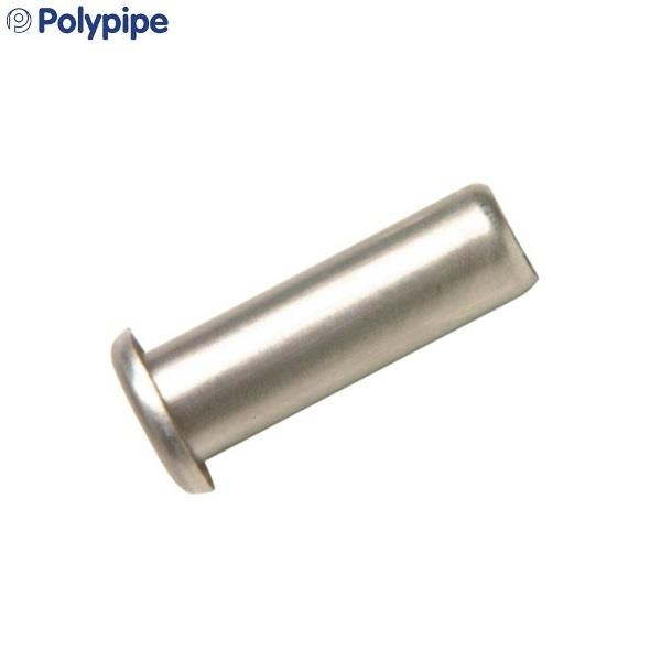 Polyplumb 15mm Pipe Stiffener Stainless Steel