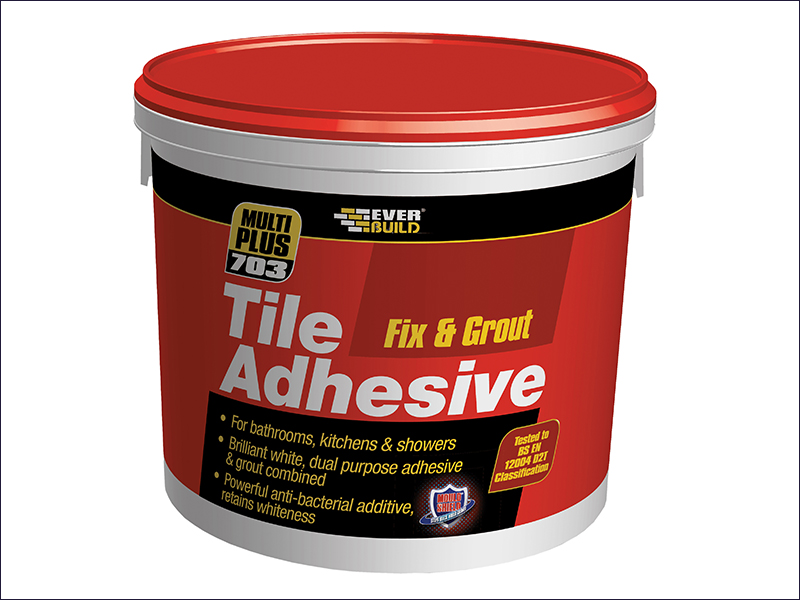 Everbuild Fix & Grout Tile Adhesive - 500ml