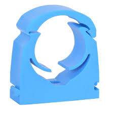 Talon 20mm MDPE Blue Hinged Clip