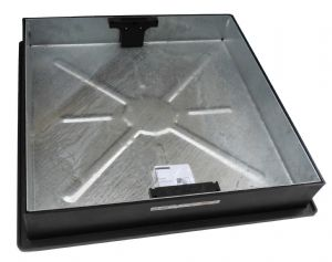 450mm Square Recessed Block Paving Cover & Frame