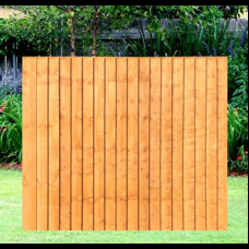 6' x 5' Fully Framed Feather Edge Closeboard Fence Panel