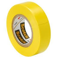 PVC Insulating Tape: Yellow