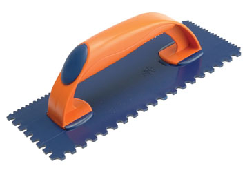 Vitrex Plastic 115x278mm Notched Tile Trowel (4/7mm)