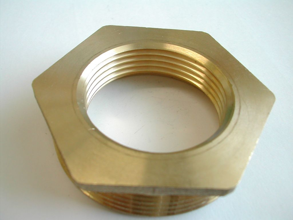 "Brass Reducing Bush 2"" x 1"""