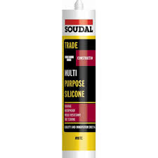 Soudal Trade Multi-Purpose 300ml Silicone - White