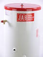 JABDUC Unvented Indirect (Slimline 470mm) Stainless Steel Cylinder - 125L