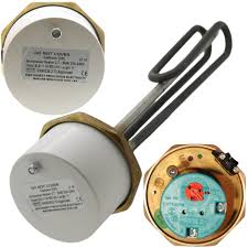 """Advantay 14"""" x 1 3/4""""(1.75"""") Incoloy Immersion Heater (3kW, 240V) w/ RTS Thermostat"""