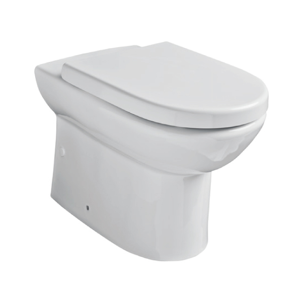 K-Vit Ratio Close To Wall C/C WC Pan & Cistern (Seat Not Included)