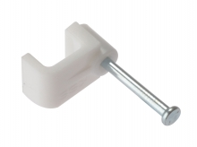 1.5mm Flat Nail-in Cable Clips (Box of 100)