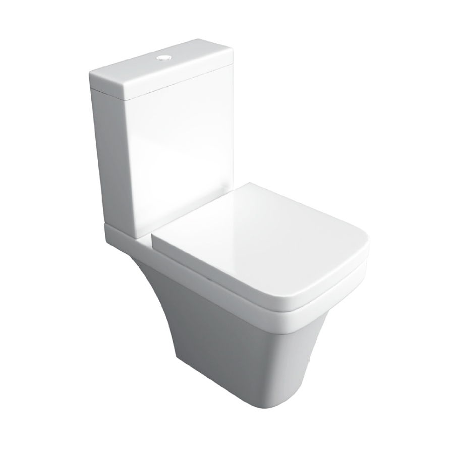 K-Vit Sicily Close Coupled WC Pan & Cistern (Seat Not Included)