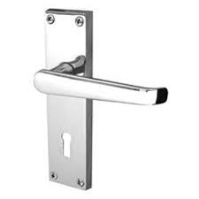 Eclipse Victorian Straight Lever Lock Set - Polished Chrome