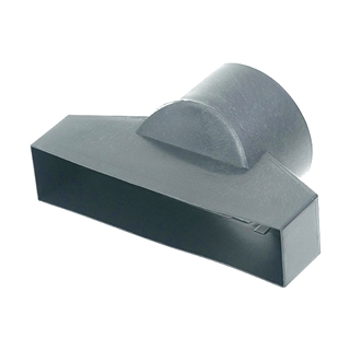 Rear Underfloor Vent 110mm Duct Adaptor